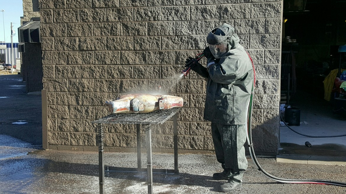 Chose the Right Equipment for Sandblasting