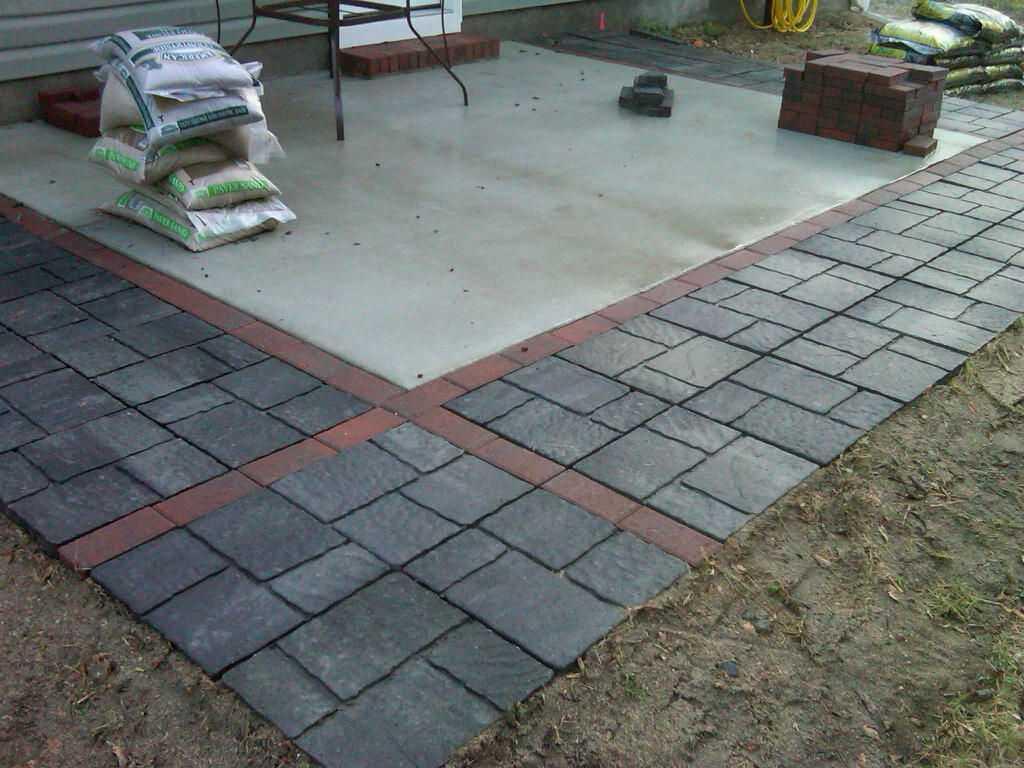 Using Concrete Pavers