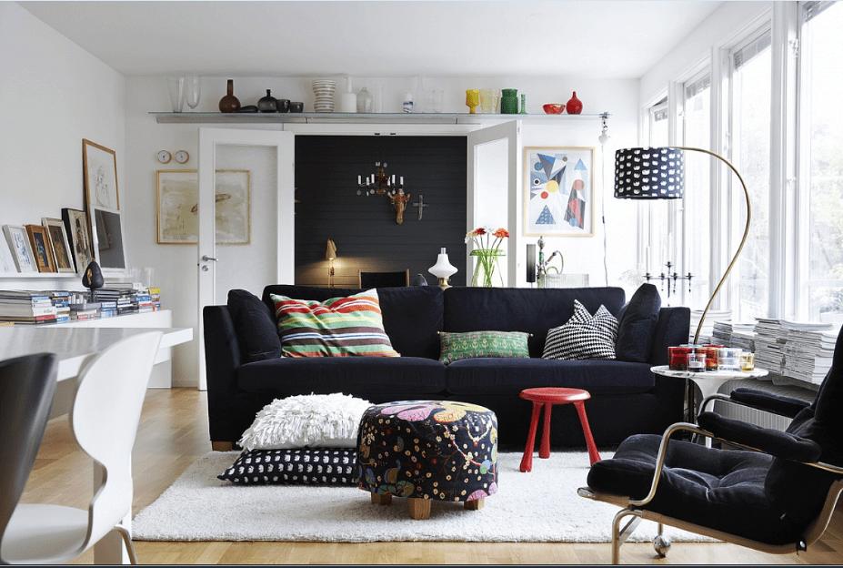 Scandinavian interiors.