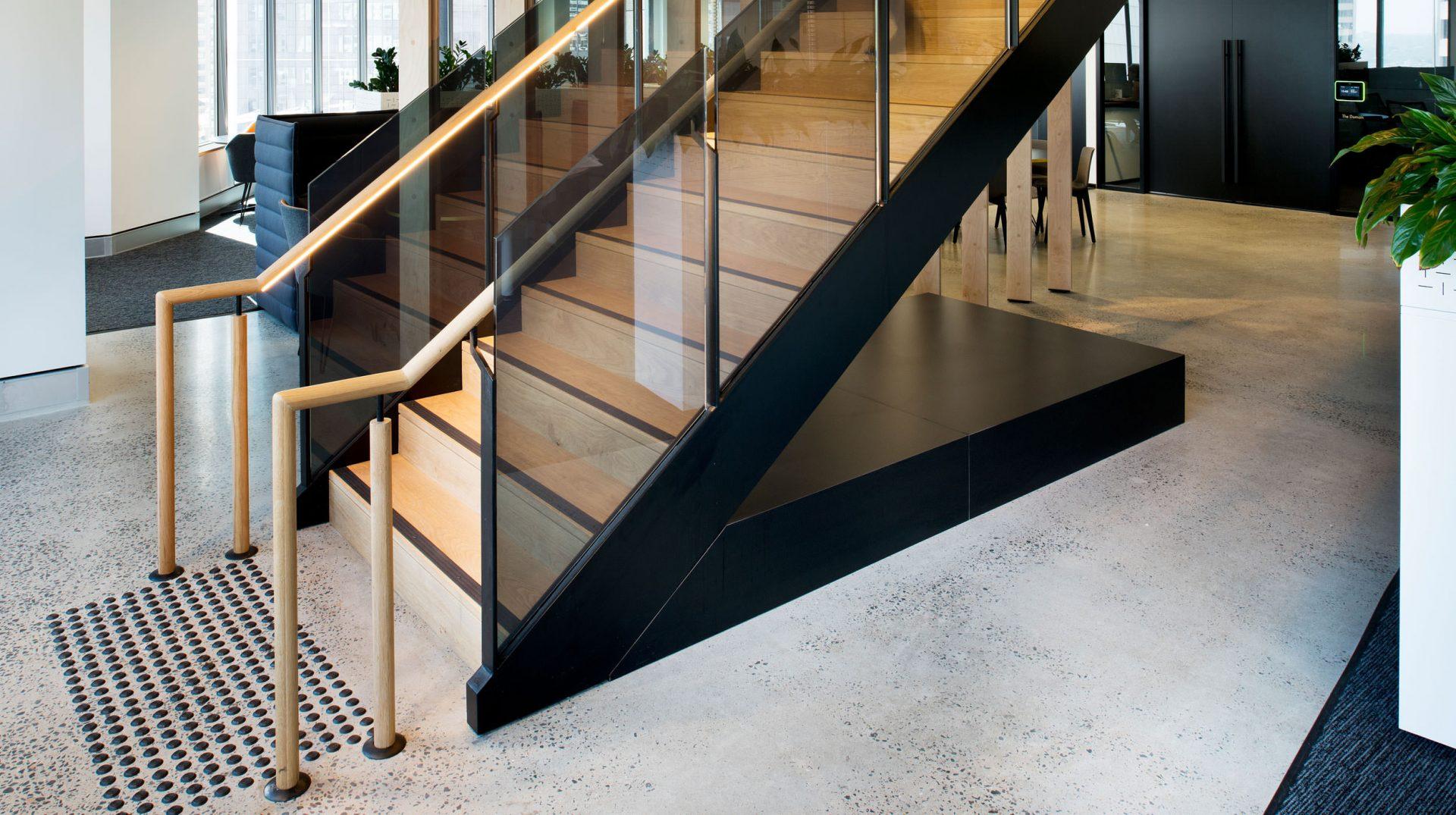 commercial balustrade design Australian standard